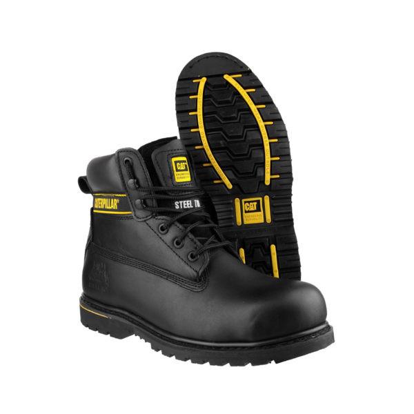 Darbo batai CAT HOLTON (juodos spalvos)
