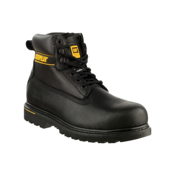 Darbo batai CAT HOLTON S3 (juoda spalva)