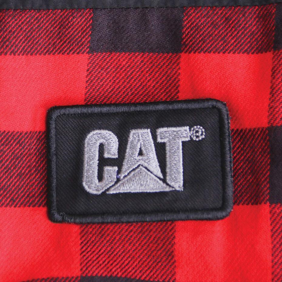 Darbinė striukė CAT, raudona