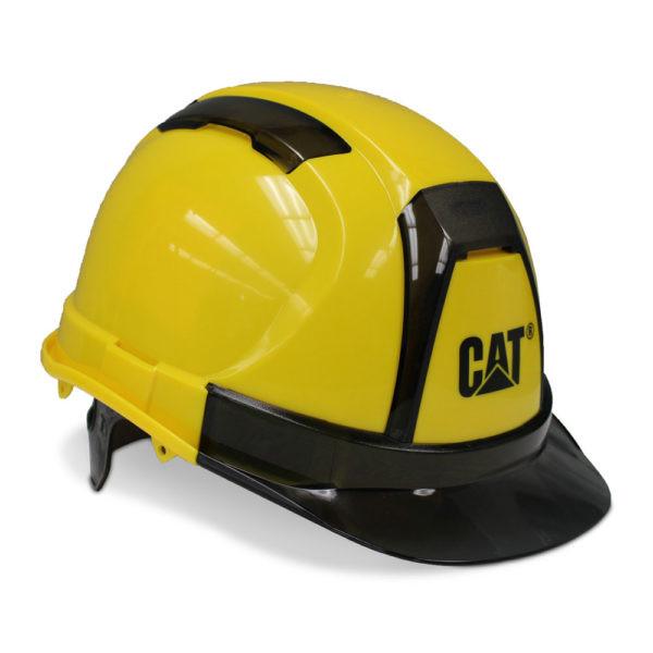 Apsauginis šalmas CAT 019666, geltonas